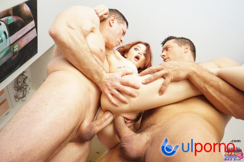 Lola Fae - Tiny Spinner Double Stuffed By Two Big Cocks (Teen, Young) [SD]